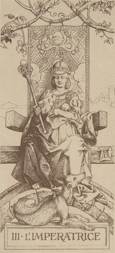 Arcane III : L'Impératrice - Le Tarot d'Albrecht Dürer