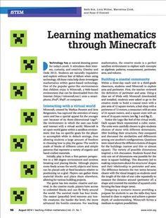 Math and Minecraft. Find tools to optimize learning with Minecraft.