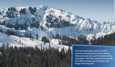 """Sugarbowl, Truckee, California (""""Palisades"""" shoots to the right)"""