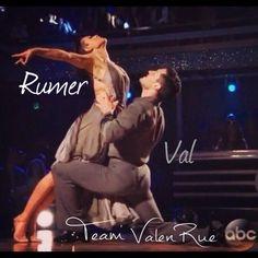 Beyond STUNNING waltz tonight Adore these two & am so proud of them Vote @iamvalc @therue #TeamValenRue