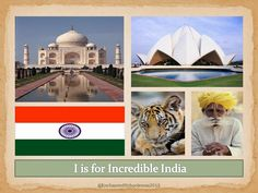 Enchanted Schoolroom: I is for Incredible India, letter A Great addition for Asia Continent Box!