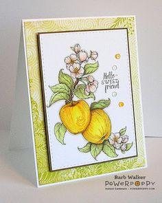 The Buzz: Power Poppy ~ Apples In Season