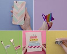 Washi tape designs give a personalized style to your favorite things! Check out this roundup of 100 washi tape ideas to try.