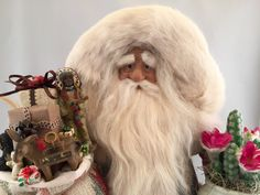 South Western Santa Claus by DianesHeirloomSantas on Etsy
