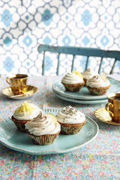My basic cupcakes (from Cook Happy, Cook Healthy by Fearne Cotton)