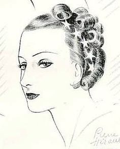 Auguste Bonaz Advertisement with rhinestone star clips, 1933