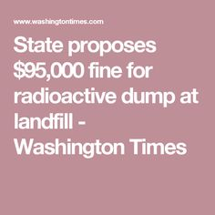 State proposes $95,0