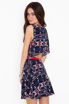 sierra cutout dress