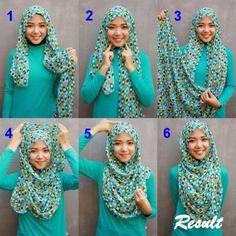 HIJAB FASHION INSPIRATION : Perfect Chest Coverage Hijab Tutorial