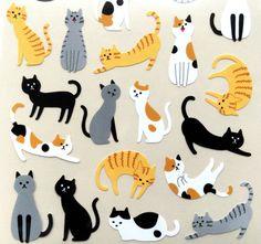 Kawaii Cute Japanese Stickers