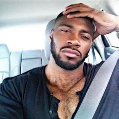 Black Men Are Beautiful. Hot Black Guys, Fine Black Men, Gorgeous Black Men, Handsome Black Men, Beautiful Men, Fine Men, Gorgeous Guys, Pretty Men, Hot Guys