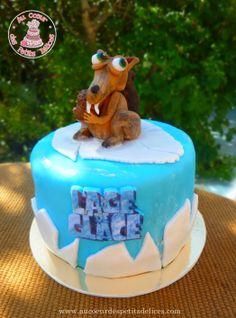 Gâteau Scratt 'L'âge de glace'