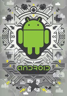 Android. Ilustración de Junichi Tsuneoka
