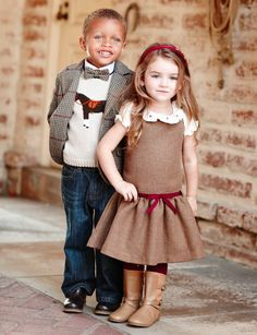 Autumn Tweed fashion at Janie and Jack. Toddler Boy Fashion, Kids Fashion, Autumn Fashion, Stylish Baby, Stylish Kids, Newborn Outfits, Boy Outfits, Tweed Outfit, Tweed Blazer
