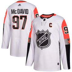 69945965d Connor McDavid Edmonton Oilers adidas 2018 NHL All-Star Game Pacific  Division Authentic Player Jersey