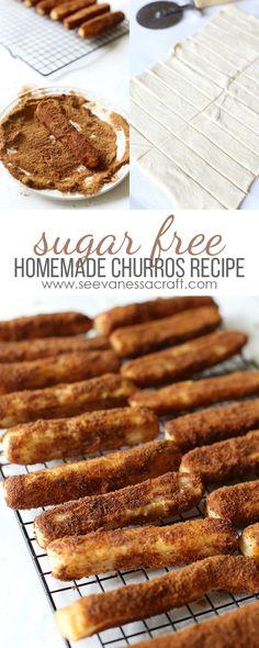 Homemade Sugar Free Churro Recipe