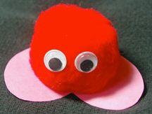 Create a Craft Pom Pom Critter Kid's Valentine Gift – Valentine's Day Craft