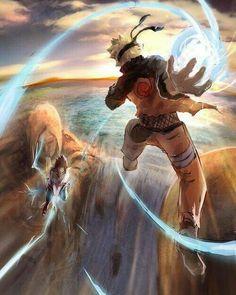 Naruto vs Sasuke / #Naruto #MA #Anime #Batalha #Amigos #Sasuke