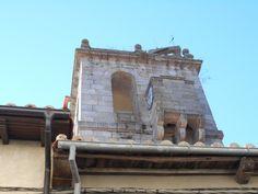 Reloj en la Torre de las Campanas. Miranda del Castañar.