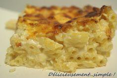 Délicieusement... simple !: Le gratin de macaronis comme les Desperate Housewi...