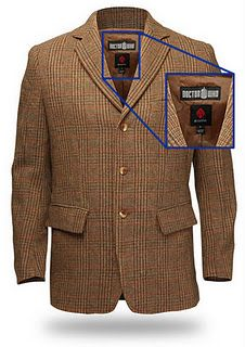 Official 11th Doctor coat