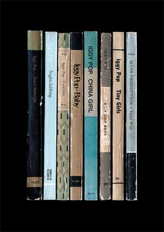 Iggy Pop 'The Idiot' Album As Penguin Books by StandardDesigns