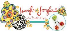 I totally love anything Jennifer Heynen does, from ceramics to fabrics.  AKA Jennifer Jangles.