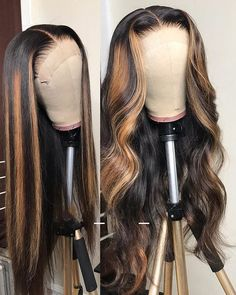 Lace Wigs Straight Human Hair Natural Looking Closure Wigs Human Hair Wigs For Women Weave Hairstyles, Straight Hairstyles, Lace Frontal Hairstyles, Trending Hairstyles, Everyday Hairstyles, Curly Hair Styles, Natural Hair Styles, Natural Wigs, Natural Beauty