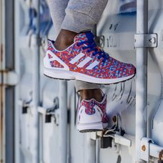 Add some spring to your step with this week's #kickoftheweek: #adidasOriginals ZX FLUX Prism Weave Collection. Picking up where last year's #ZXFLUX Prism Pack left off, these kicks revive the complex prism pattern on a seamless woven upper. Available now in the U.S. at www.adidas.com/zxflux.