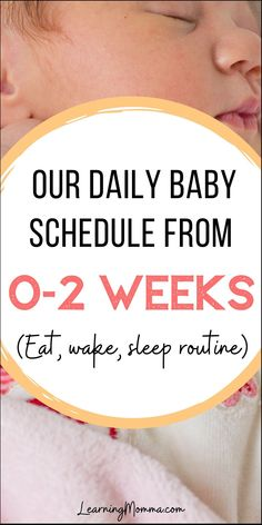 Babywise Schedule Sample For A Newborn - When Should They Sleep?
