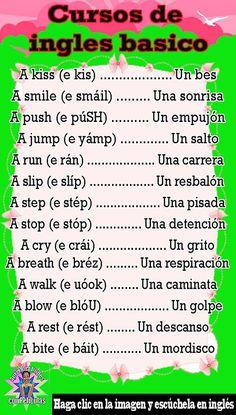 English Grammar Tenses, Spanish Grammar, Spanish Phrases, Spanish Words, Spanish Language Learning, English Vocabulary Words, English Phrases, Learn English Words, Teaching Spanish