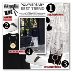 """Celebrate Our 10th Polyversary!"" by nanawidia ❤ liked on Polyvore featuring Gucci, Alexander Wang, Miu Miu, Ray-Ban, Chloé, Jennifer Meyer Jewelry, Panasonic, polyversary, contestentry and polyvoreeditorial"