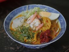 Curry Laksa (Malacca Nyonya Laksa) - Wait, WTF haven't I made this yet?!  Other than the fact that it probably takes a lot of prep...