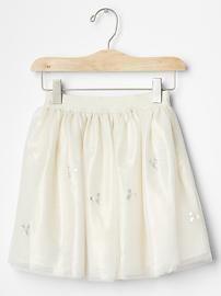 Sparkle tulle circle skirt