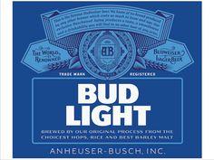 Bud Light branding design typography type logo lettering
