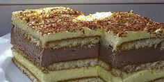 ....Tutti frutti…. (kolač koji se ne peče) Albanian Recipes, Bosnian Recipes, Croatian Recipes, Brze Torte, Kolaci I Torte, Baking Recipes, Cake Recipes, Dessert Recipes, Tutti Frutti