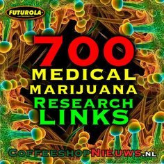 WUC NEWS: 700 medical cannabis studies sorted by disease