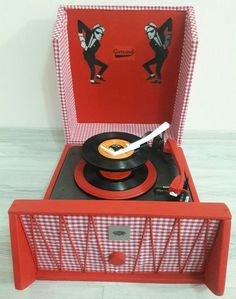 Garrard Record Player...1960's...Made in UK. By Space Age Antique