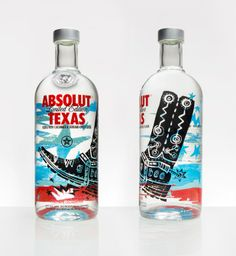 Absolut Texas - Graphis