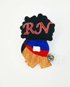 ID Card Name Tag Custom Puerto Rican National Flag Badge Holder Puerto Rico Flag Retractable Badge Reel Black Badge Reel with Spring Pinch Clip