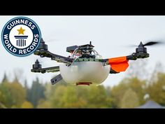 Drone display sets world record for most UAVs airborne simultaneously - YouTube
