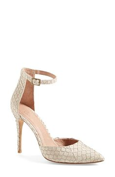 Joie 'Gillian' Ankle Strap Pump (Women) available at #Nordstrom