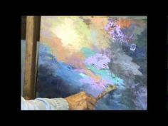 ACRYLIC ABSTRACT PALETTE KNIFE PAINTING BY MILLIE GIFT SMITH - YouTube
