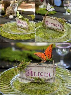 Image result for fairy place card