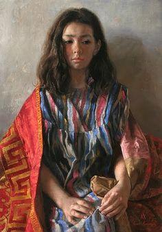 Arsen Kurbanov, 1969 ~ Portrait painter