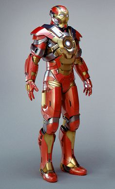 Iron Man Age of Ultron Concept Art. It's the Heartbreaker armor!