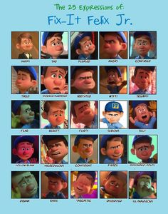 25 Expressions Challenge: Fix-It Felix Jr. by HannahPewee.deviantart.com on @deviantART