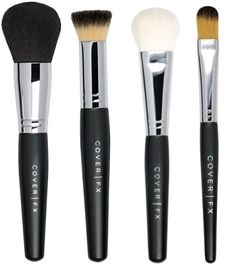 #CoverFX brushes are 100% #crueltyfree and #vegan. Made with innovative DuPont Natrafil technology, which mimics the properties of animal hair, but is man-made.