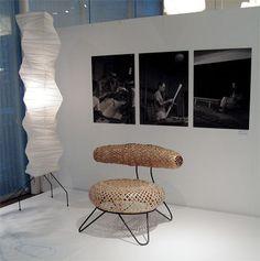 イサム・ノグチと剣持勇、幻のBamboo Chair (1/2) アート Excite ism(エキサイトイズム)