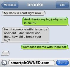 court - Other - Nov 10, 2011 - Autocorrect Fails and Funny Text Messages - SmartphOWNED #iphone #fail #autocorrect